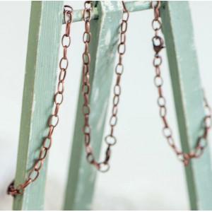 Заготовка-цепочка для браслета, медь, 20 см...