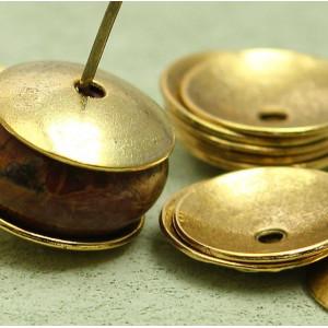 Чашечка (шапочка) для бусин, золото, 13х1 мм...