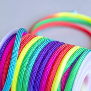 Шнур полиэстровый, разноцветный, 4 мм...
