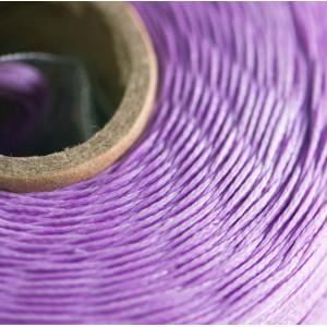 Плоский вощеный шнур синт., цвет сиреневый, 1х0,4 мм...