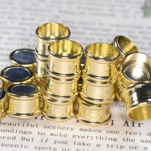 Застежка магнитная для жгута, цвет - золото, 21x14x14 м...