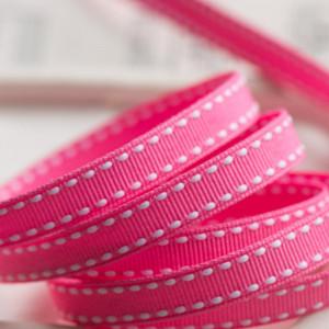 Лента из репса, розовый, ширина 9 мм...