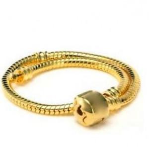 Браслет в стиле Пандора на магнитном замке, золото, 160...