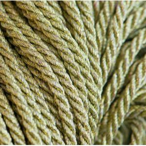 Витой шнур, металлик, золотой 3 мм...
