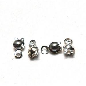 Калотта с отверстием, серебро, 8х4 мм (20 шт.)...