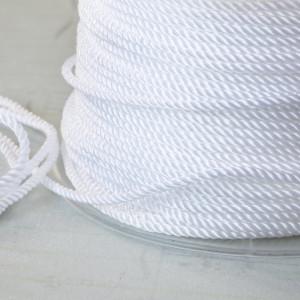 Витой полиэстеровый шнур, белый, 1,5 мм...
