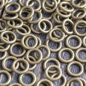 Колечко соединительное 10 мм, цвет античная бронза, 10х...