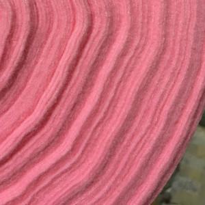 Корейский мягкий Фетр RN-37 розовый, 1 мм, 33х110 см