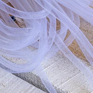 Ювелирная сетка, белый, 8 мм...