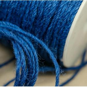 Конопляный шнур, синий, 2 мм (5 м)...