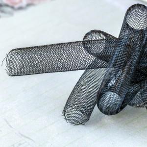 Ювелирная сетка, черный, 16 мм...