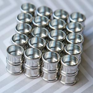 Застежка магнитная для жгута, цвет - платина, 21x14x14 ...