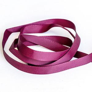 Репсовая лента, лиловый, ширина 9,5 мм...