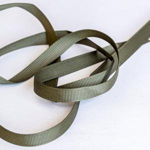 Репсовая лента, зеленый, ширина 9,5 мм...