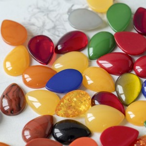 Кабошон из смолы, имитация мармелада, разные цвета, 18,...