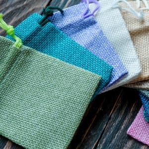 Холщовый мешочек, разные цвета, 90х70 мм...