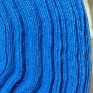 Корейский мягкий Фетр RN-46 голубой, 1 мм, 33х110 см