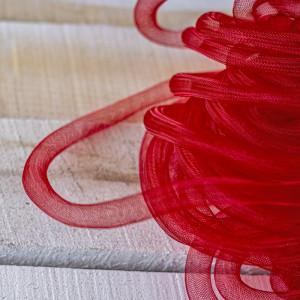 Ювелирная сетка, красный, 16 мм...
