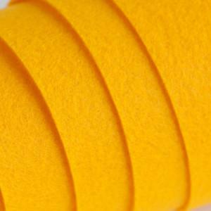 Корейский жесткий фетр цв.822, темно-желтый, толщина 1,...