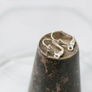 Швензы (основы для сережек), серебро, 5.6x16.7x10.2 мм...