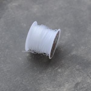 Леска прозрачная, диаметр - 1 мм, в катушке 5 м...