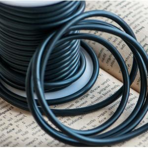 Резиновый шнур, полнотелый, черный, диаметр 4 мм...