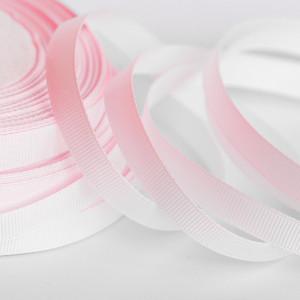 Репсовая лента, светло- розовый, ширина 10 мм...