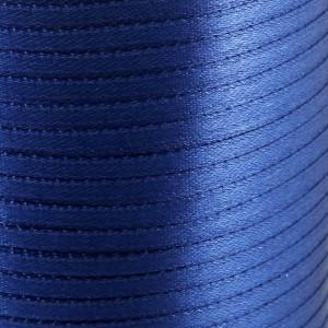 Атласная лента, королевский синий, ширина 3 мм...