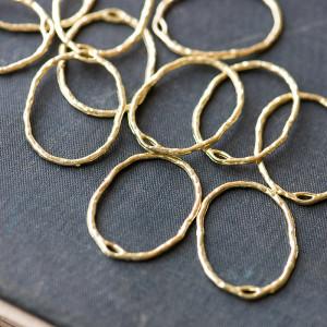 Коннектор, цвет золото, 30x21.5x1.5 мм...