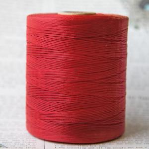 Плоский вощеный шнур синт., цвет красный, 1х0,5 мм...