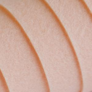 Корейский жесткий фетр цв.811, персиковый, толщина 1,2 ...