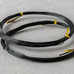 Проволока алюминиевая, цвет черный, 0,8 мм...