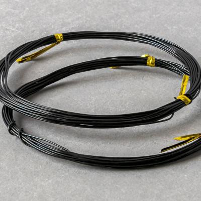 Проволока алюминиевая, цвет черный, 0,8 мм