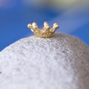 Чашечка (шапочка)  для бусин, цв. золото, 12,5x12,5x5,5...