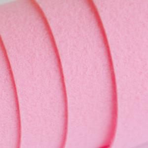 Корейский жесткий фетр цв.828, розовый, толщина 1.2 мм,...
