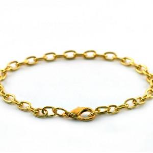 Заготовка-цепочка для браслета, золото, 20 см...