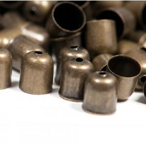 Концевик для шнура, античная бронза, 8x7 мм...