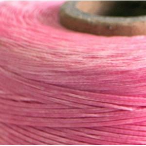Плоский вощеный шнур синт., цвет розовый, 1х0,4 мм...