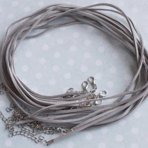 Основа для ожерелья, темный серый, 490х2 мм...