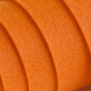 Корейский жесткий фетр цв.824, темно-оранжевый, толщина...