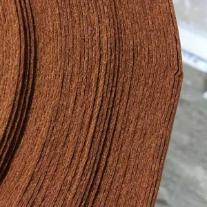 Корейский жесткий Фетр 881 буро-коричневый, 1.2 мм, пог...