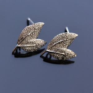 Пуссеты-гвоздики, покрыты платиной, 15x10 мм...
