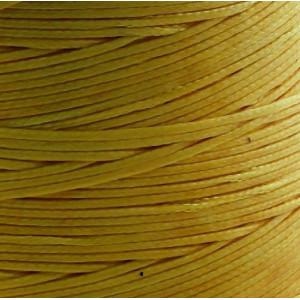 Плоский вощеный шнур синт., цвет т.-желт., 1х0,4 мм...
