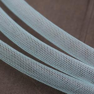 Ювелирная сетка, нежно-голубой, 10 мм...