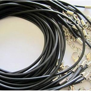 Основа для ожерелья, черный, 431х3 мм...