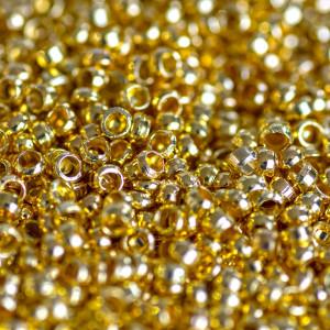 Кримп (стоппер), золото, 2х1.2 мм (уп 4 г - 120 шт)...