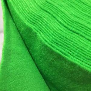 Корейский мягкий Фетр RN-48 зеленый, 1 мм, 33х110 см