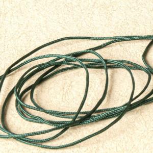 Шнур полиэстровый, изумрудный, 1 мм...