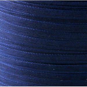 Лента из органзы, синий, ширина 3 мм...