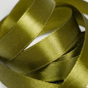 Лента атласная, оливково-зеленый, 15 мм...